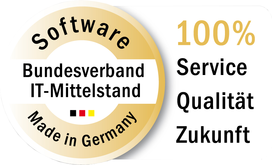 Gütesiegel Software Made in Germany